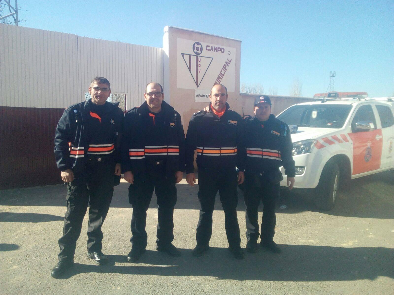 Protección Civil de Herencia sigue presente en la región 8