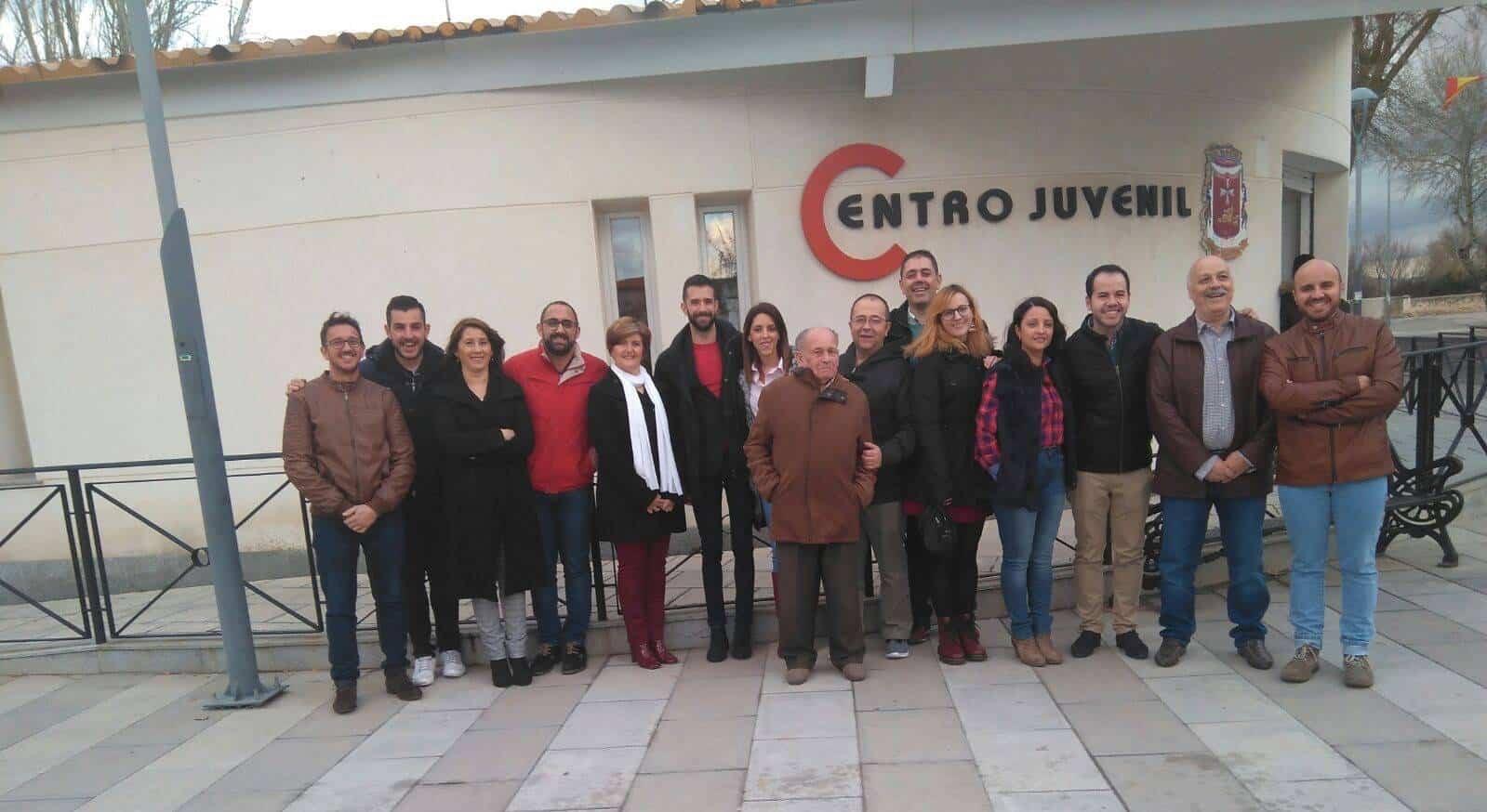 Renovación ejecutiva PSOE Villarta de San Juan