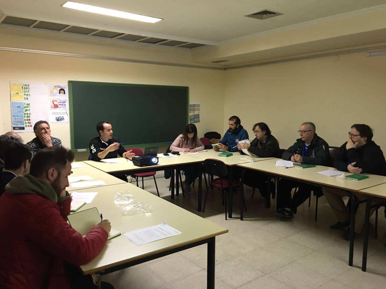 reunion consejo local deporte herencia 2 - Celebrado el Consejo Local del Deporte en Herencia