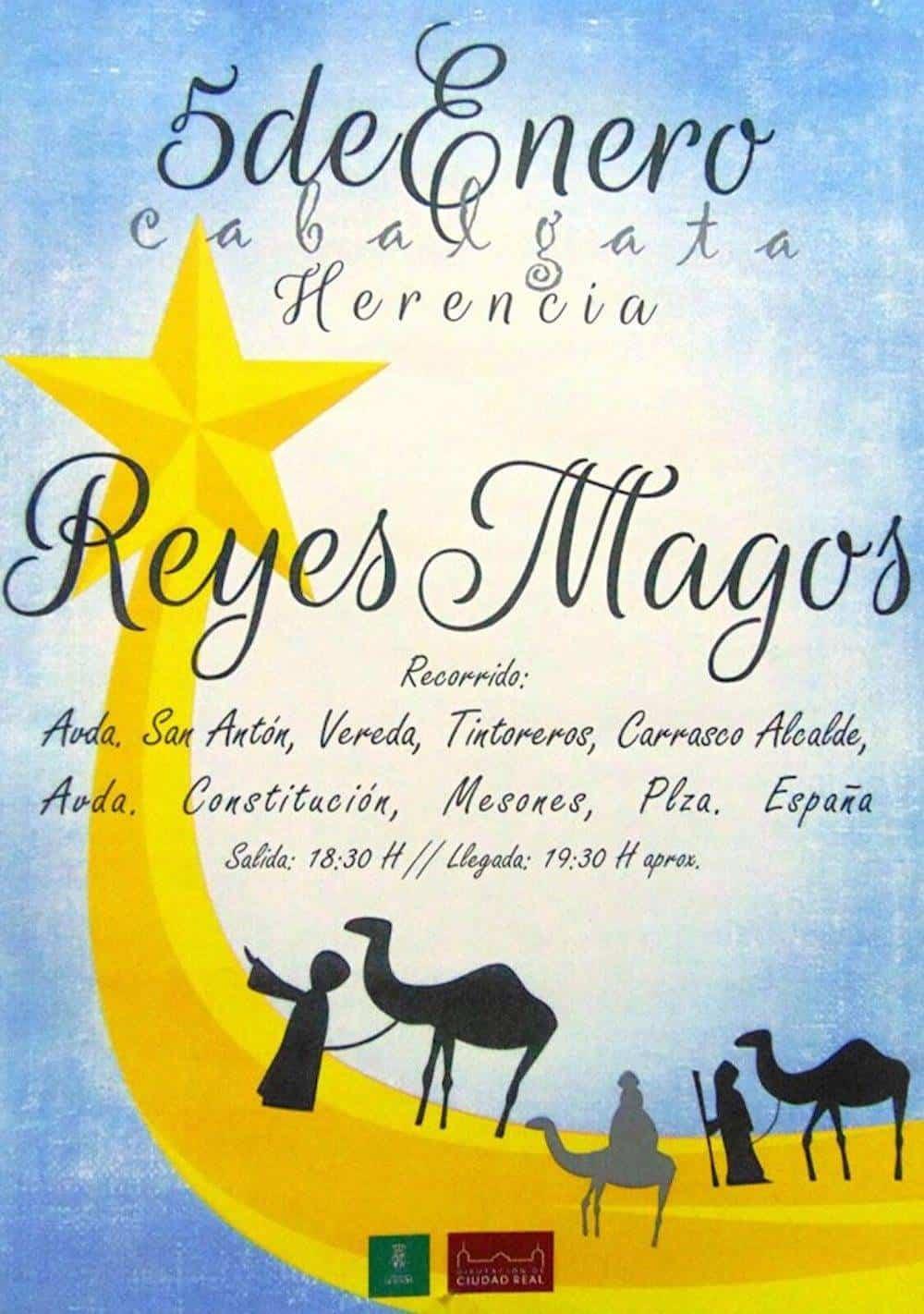 reyes magos 2017 herencia - La Cabalgata de los Reyes Magos recorrerá Herencia