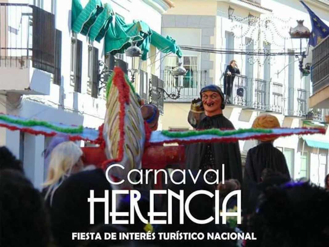 sardina carnaval herencia nacional 1068x801 - Cartel del Entierro de la Sardina 2018 del Carnaval de Herencia