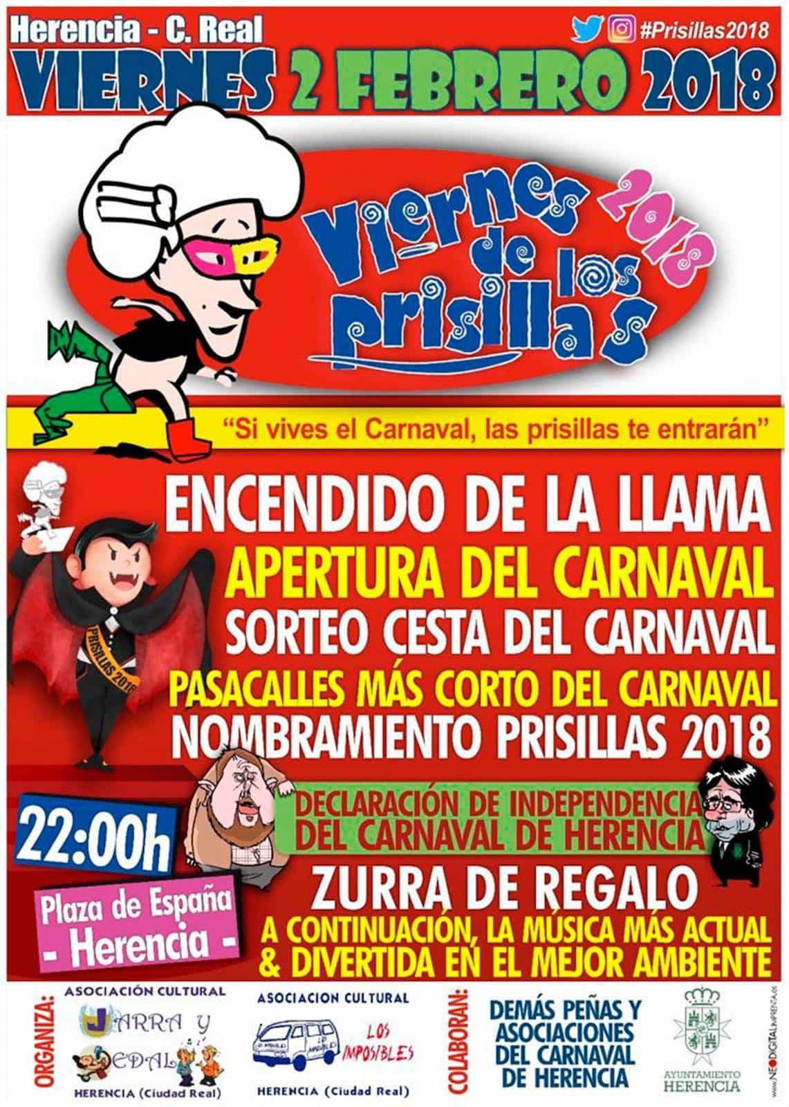 virnes prisillas 2018 - Viernes de Prisillas prepara la declaración de independencia del Carnaval