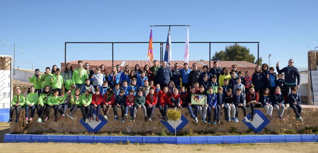 20180224 Encuentro de scout03 AdeAlba 1068x515 - Scouts de Herencia presentes en el Interlobatos 2018 en Argamasilla de Alba