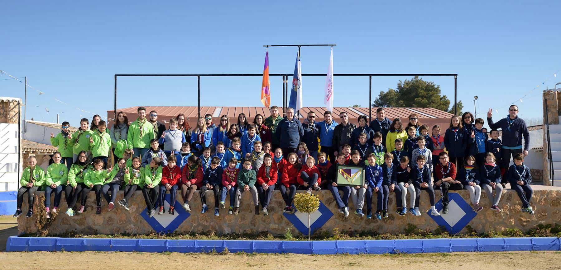 Scouts de Herencia presentes en el Interlobatos 2018 en Argamasilla de Alba 3