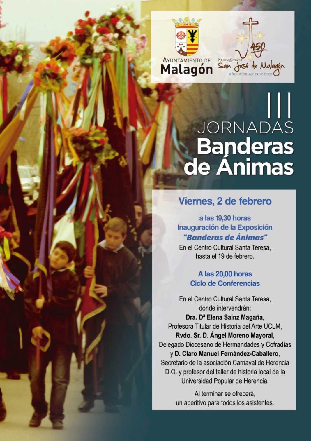 3 jornadas banderas animas 1068x1511 - Herencia en las III Jornadas de Banderas de Ánimas en Malagón