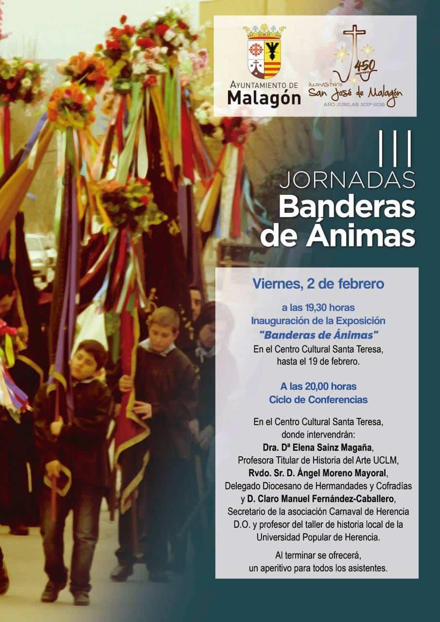 3 jornadas banderas animas - Herencia en las III Jornadas de Banderas de Ánimas en Malagón