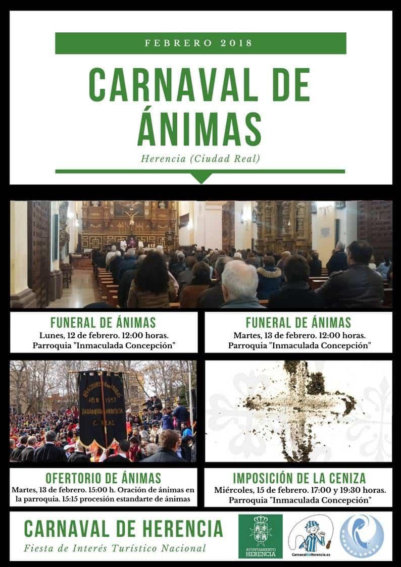 Carnaval de animas 2018 Bueno - Herencia se prepara para celebrar los cultos a las Ánimas