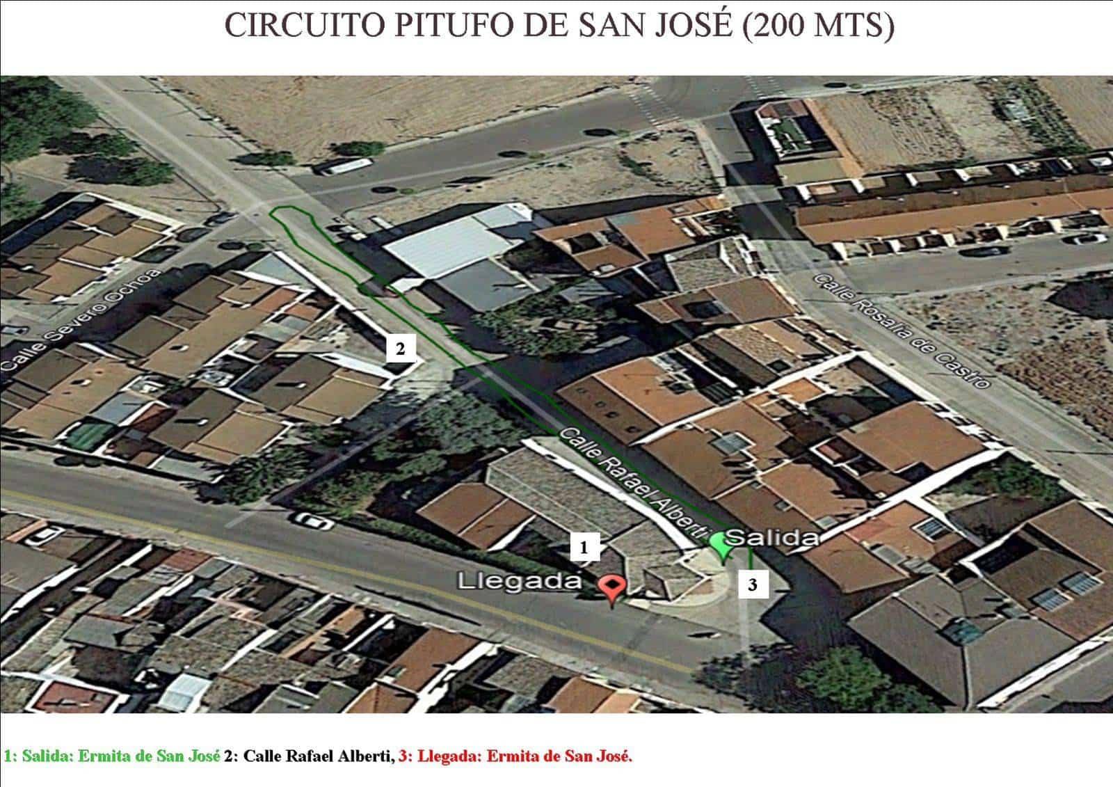 """Circuito Pitufo marcha benefica herencia - I Marcha Benéfica """"Deja tu Huella"""" de San José en Herencia"""