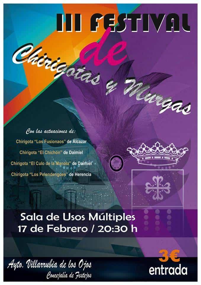 Festival de chirigotas - Los Pelendengues presentarán su tipo en Villarrubia de los Ojos