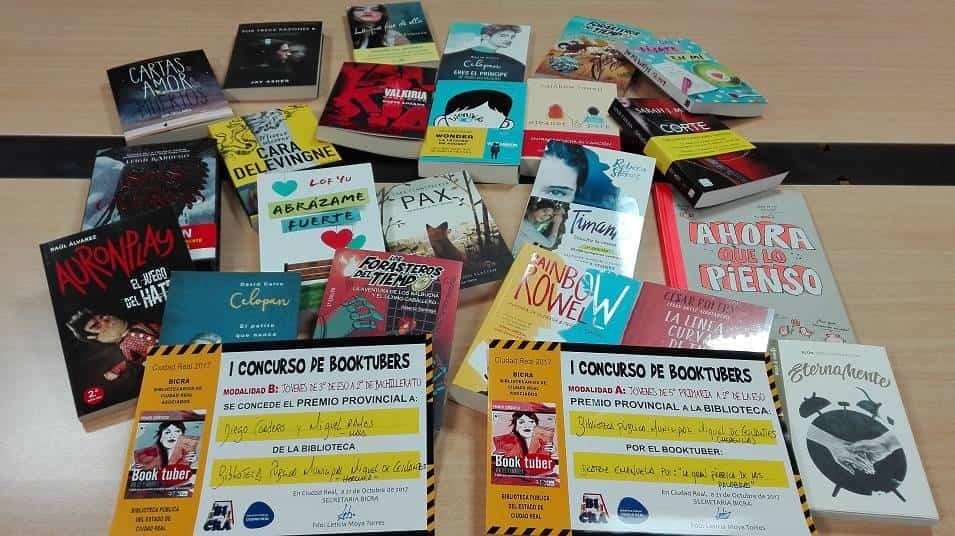 Libros premio Concurso Booktuber 1 - Nuevos libros juveniles en la Biblioteca Municipal gracias al premio del Concurso de Booktubers