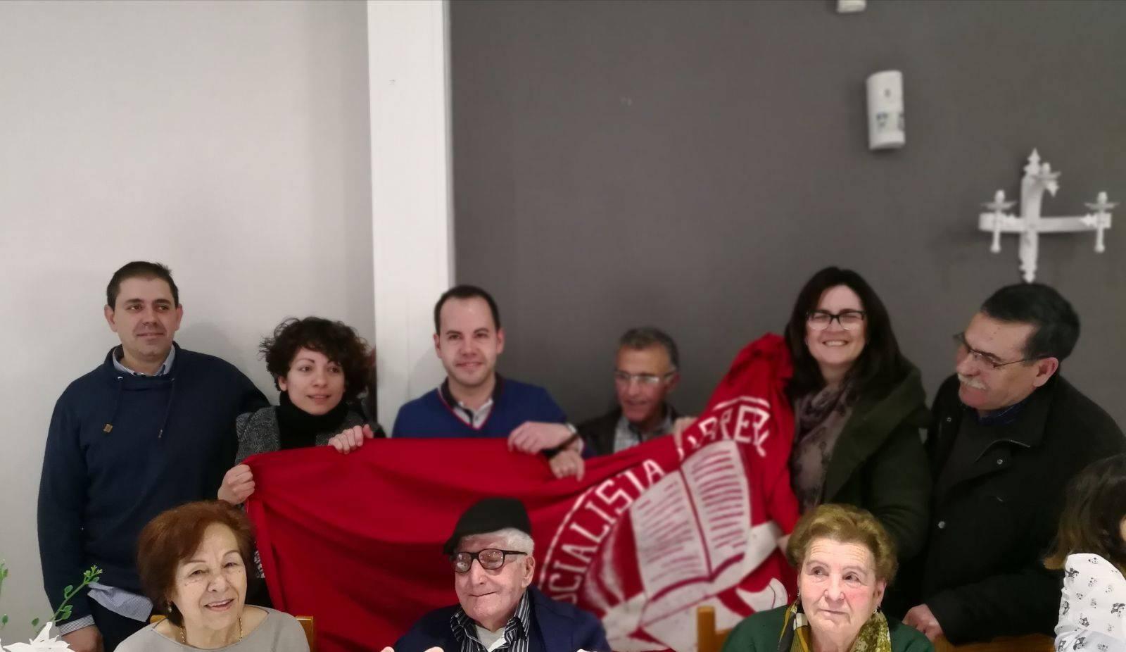 Los socialistas de Herencia celebran el 101 cumpleaños de Manuel Gallego-Nicasio 5