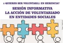 Sesión informativa sobre la acción de voluntariado en entidades sociales