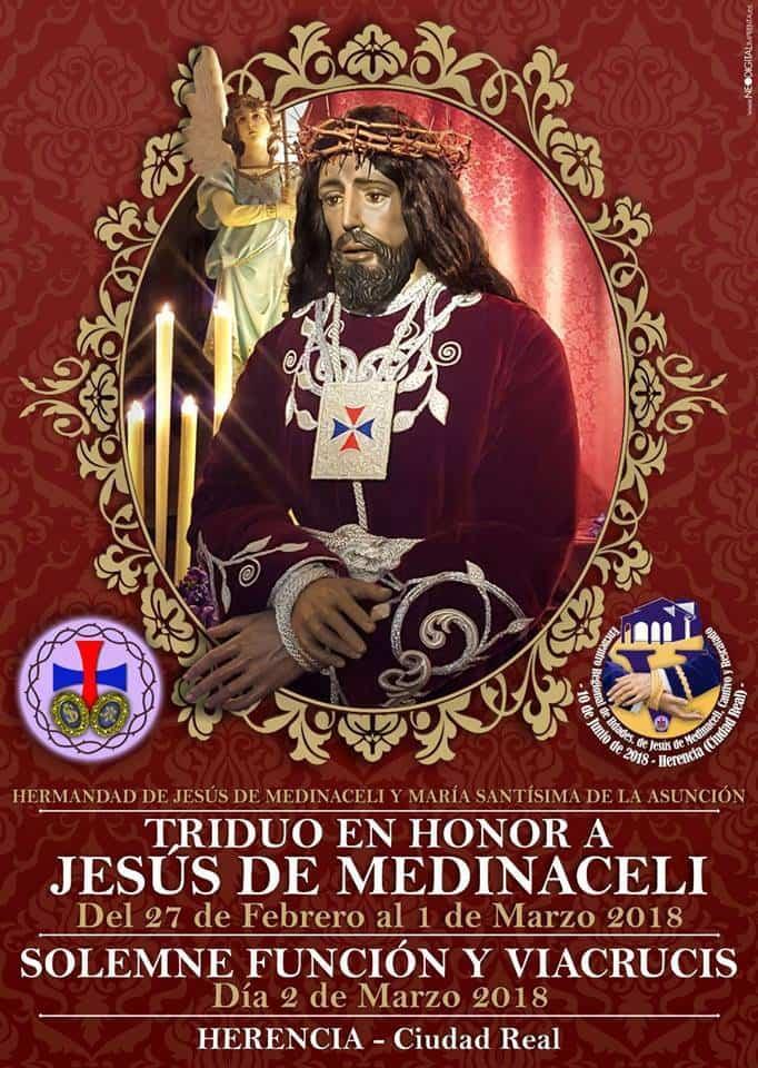 Triduo a Jesus de Medinaceli de Herencia 2018 - Triduo y Viacrucis en honor a Jesús de Medinaceli