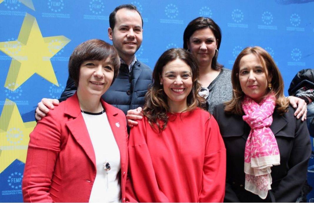 alcaldes region cr en cumbre local femp 1068x691 - Herencia presente en la Cumbre Local para defender la financiación de Entidades Locales y la Reinversión del Superávit