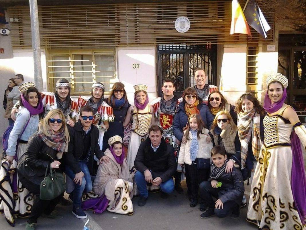 axonsou 2018 1068x801 - Axonsou primeros en Comparsas Regionales en el Carnaval de Villarrobledo