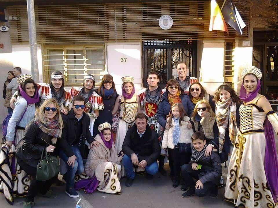 axonsou 2018 - Axonsou primeros en Comparsas Regionales en el Carnaval de Villarrobledo