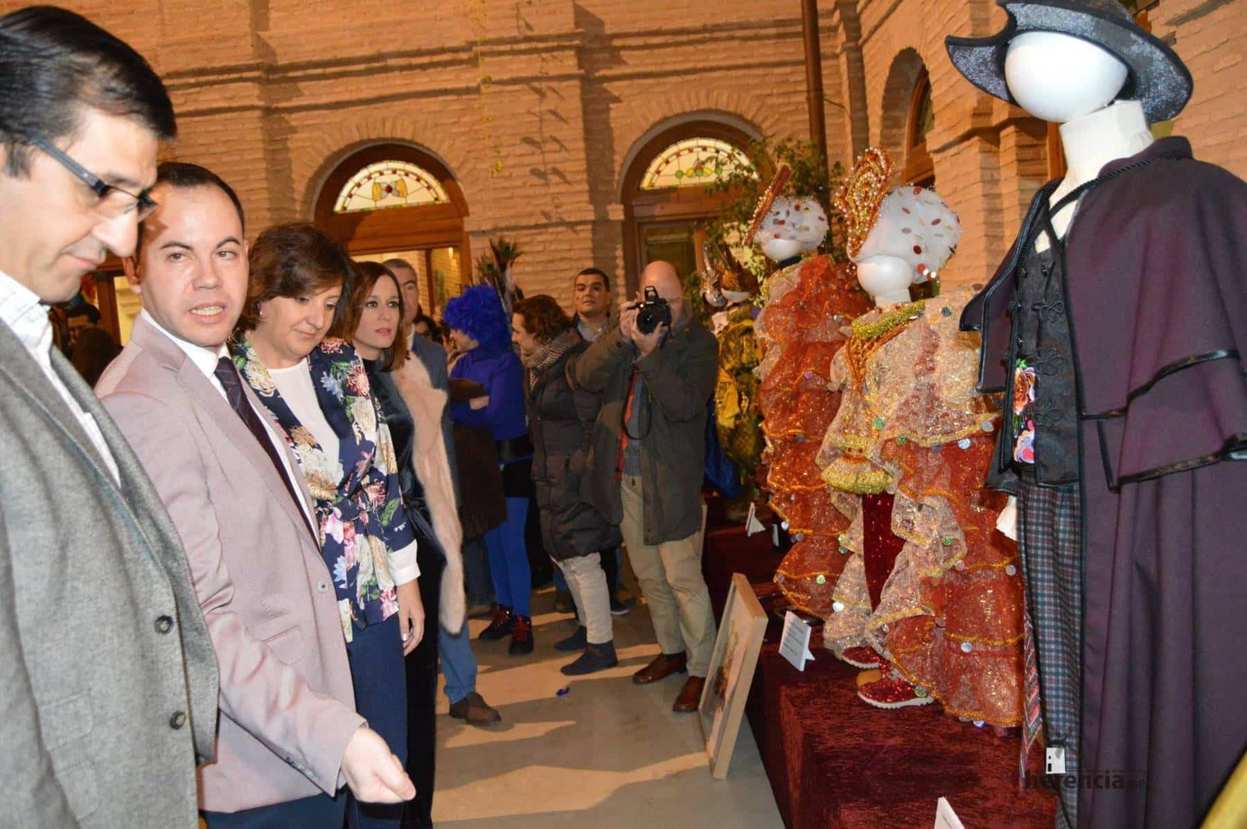 carnaval de herencia patricia franco clm 2 - Patricia Franco, Consejera de Economía de la Junta en el Carnaval de Herencia