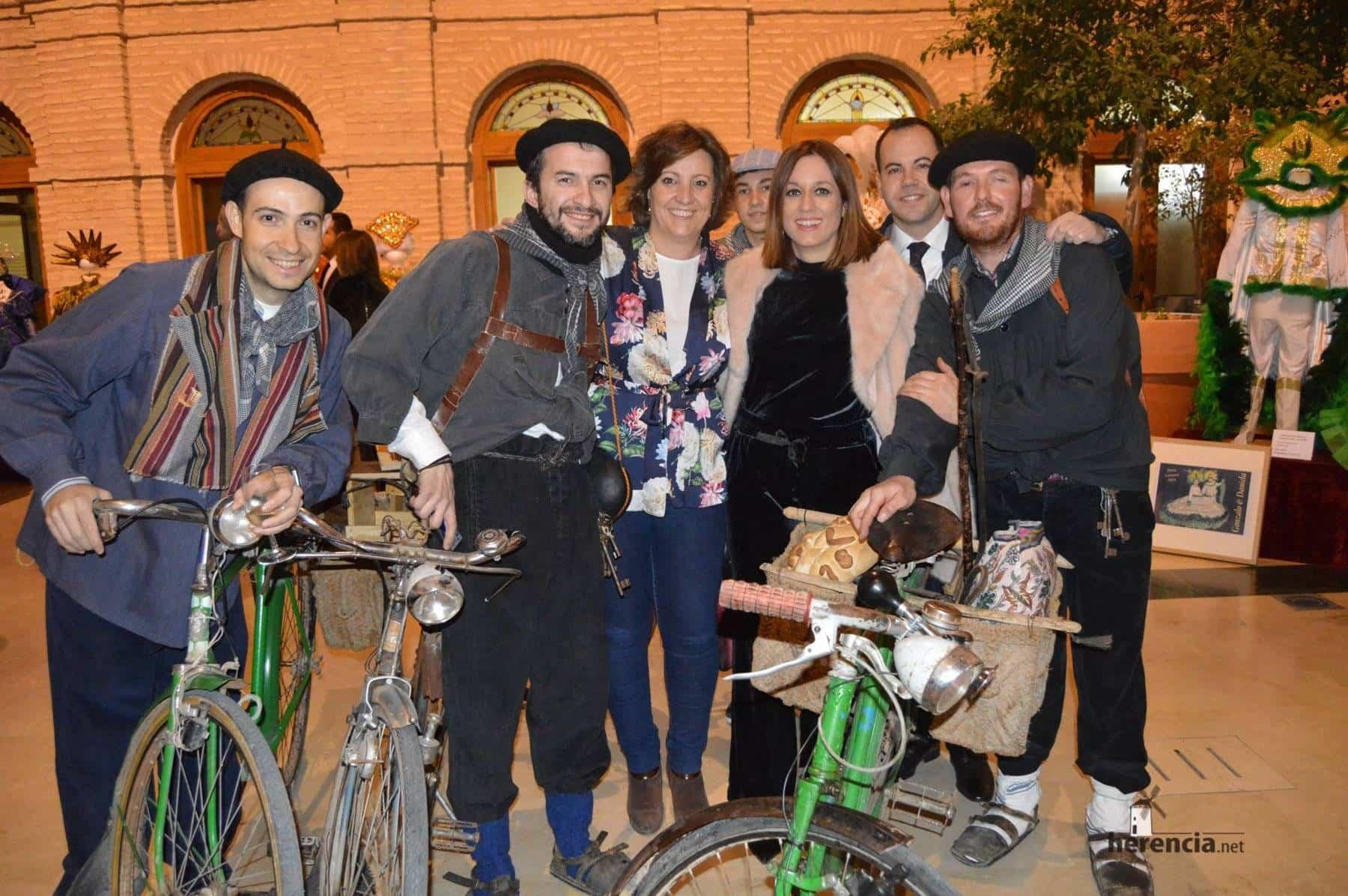 Patricia Franco, Consejera de Economía de la Junta en el Carnaval de Herencia 11