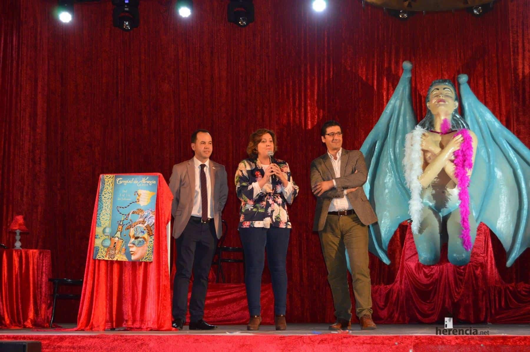 carnaval de herencia patricia franco clm 4 - Patricia Franco, Consejera de Economía de la Junta en el Carnaval de Herencia
