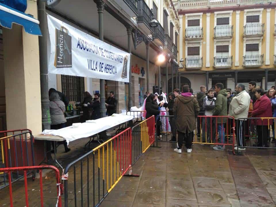 Chocolatada para dar calor al Carnaval de Herencia 2018