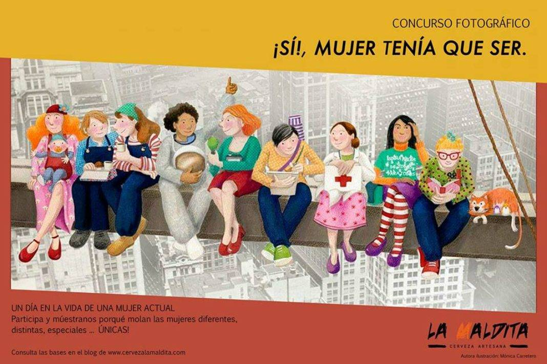 """La Maldita convoca el concurso fotográfico """"¡Sí!, mujer tenía que ser"""" 7"""