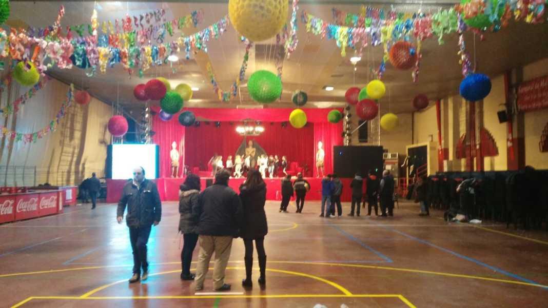 decoracion palacio carnaval herencia 1068x601 - La inauguración del Carnaval de Herencia en directo por Facebook