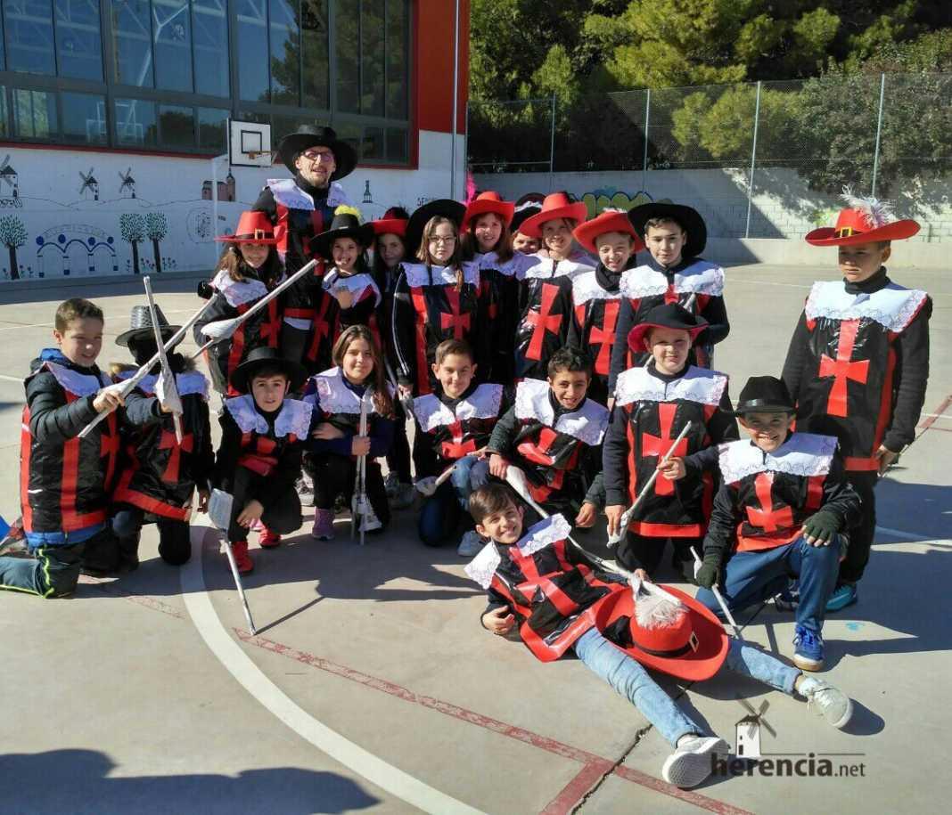 Desfile Escolar Carnaval 2018 del CEIP Carrasco Alcalde 9