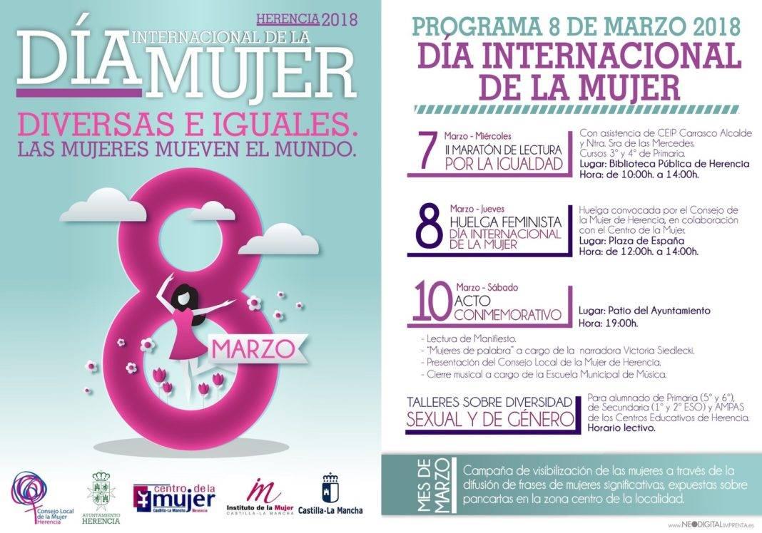 Programa de actos conmemorativos del Día Internacional de la Mujer 4