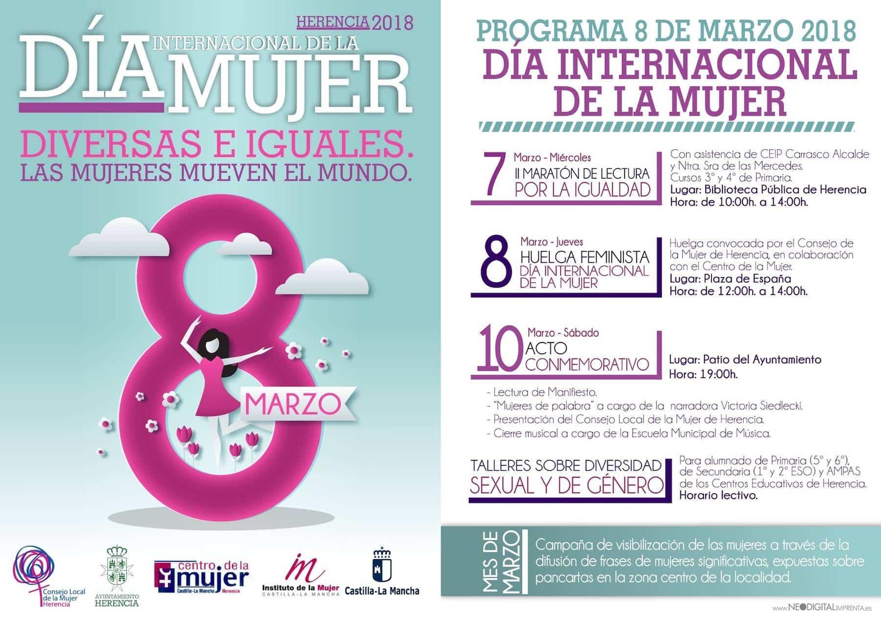 Programa de actos conmemorativos del Día Internacional de la Mujer 3