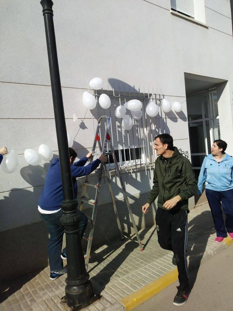 """dia paz 2018 el picazuelo 3 - El Centro Ocupacional """"El Picazuelo"""" celebra el Día de la Paz"""