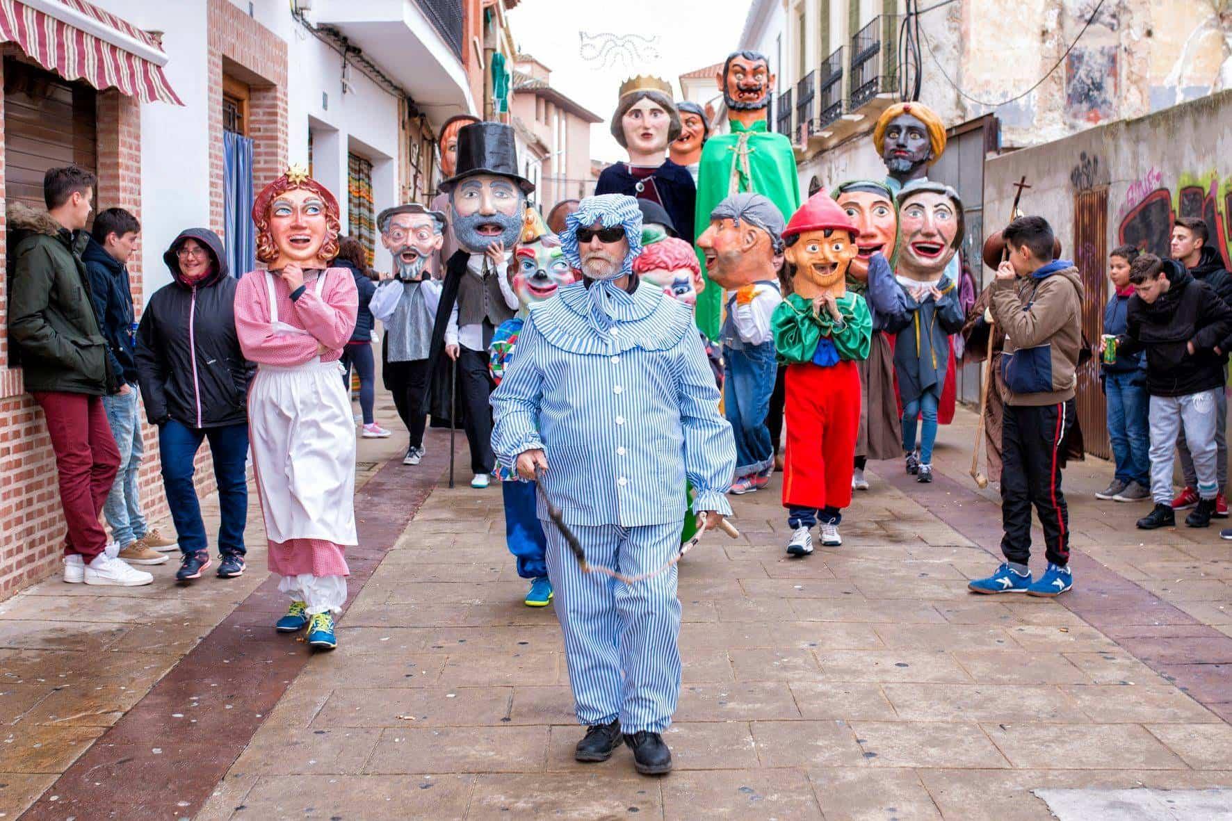 domingo deseosas 2018 carnaval herencia 8 - Nuestro Carnaval, mañana, en los informativos de Castilla-La Mancha despierta