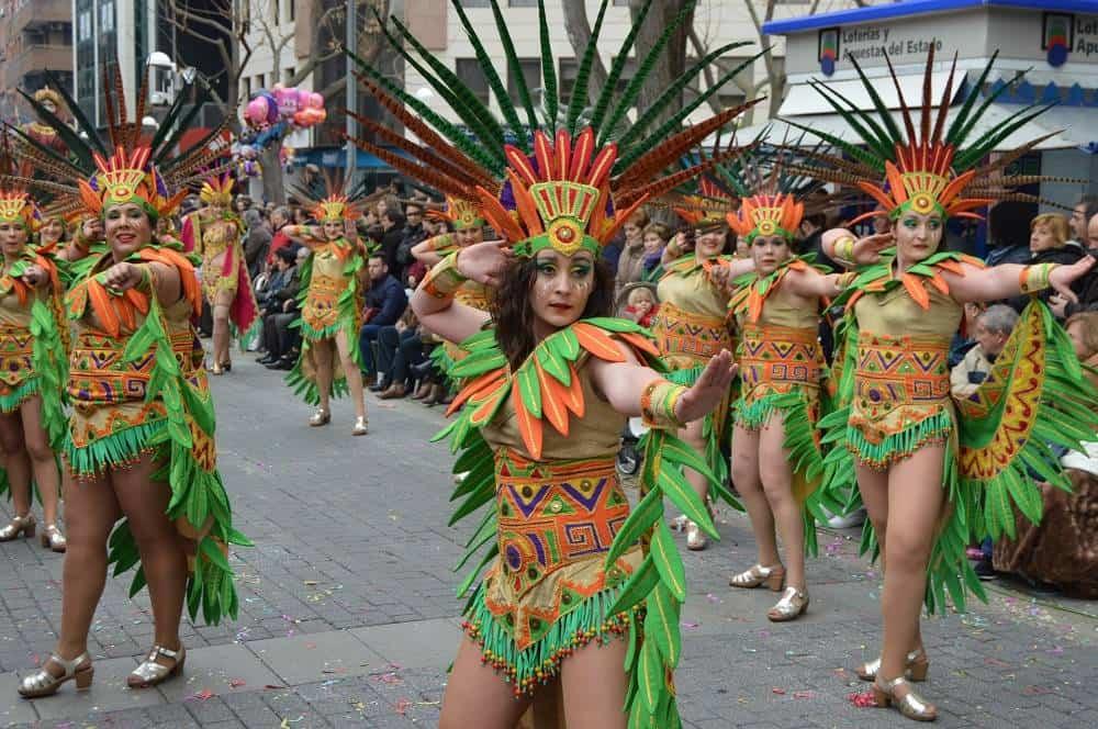 Herencia participa en el Domingo de Piñata de Ciudad Real 1