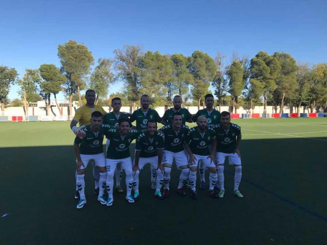 Herencia C.F. empató contra el Sporting Alcazar 4