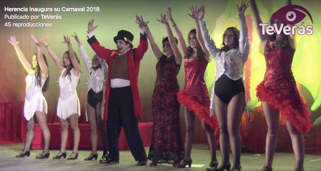 Vídeo resumen de la inauguración del Carnaval de Herencia 1