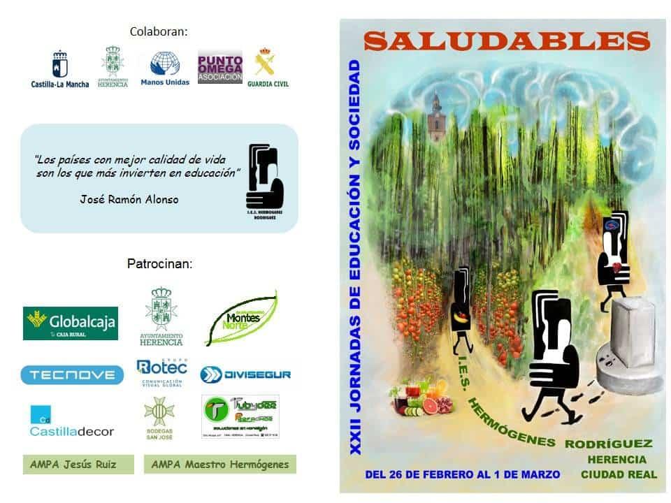 jornadas educacion saludable herencia 1 - Las XXII Jornadas del IES Hermógenes Rodríguez dedicadas a hábitos saludables