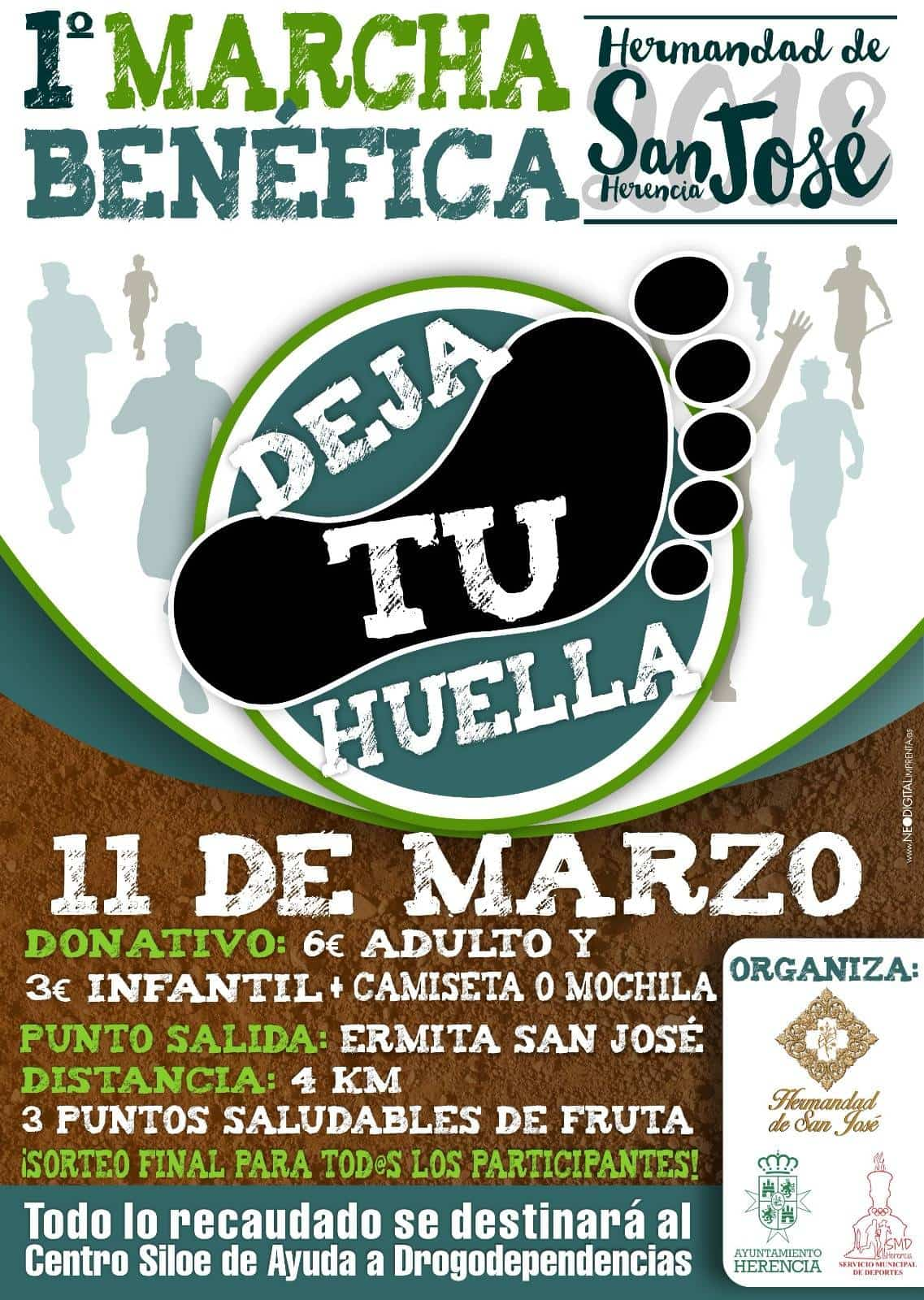 "I Marcha Benéfica ""Deja tu Huella"" de San José en Herencia 15"