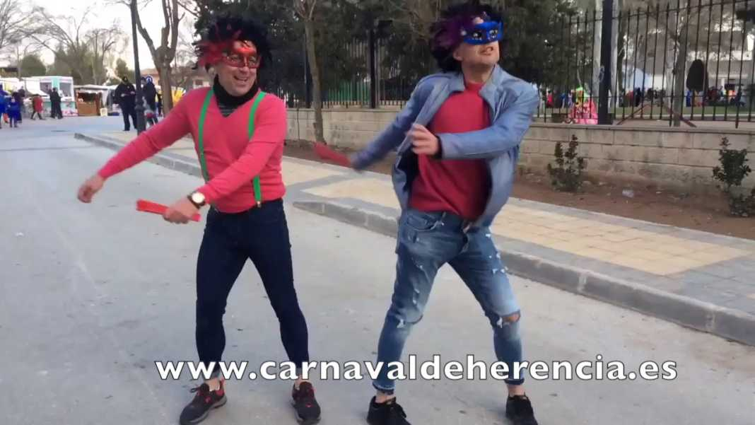 """maxresdefault 1 1068x601 - Viva el Carnaval de Herencia, aquí están """"Los Javis"""""""