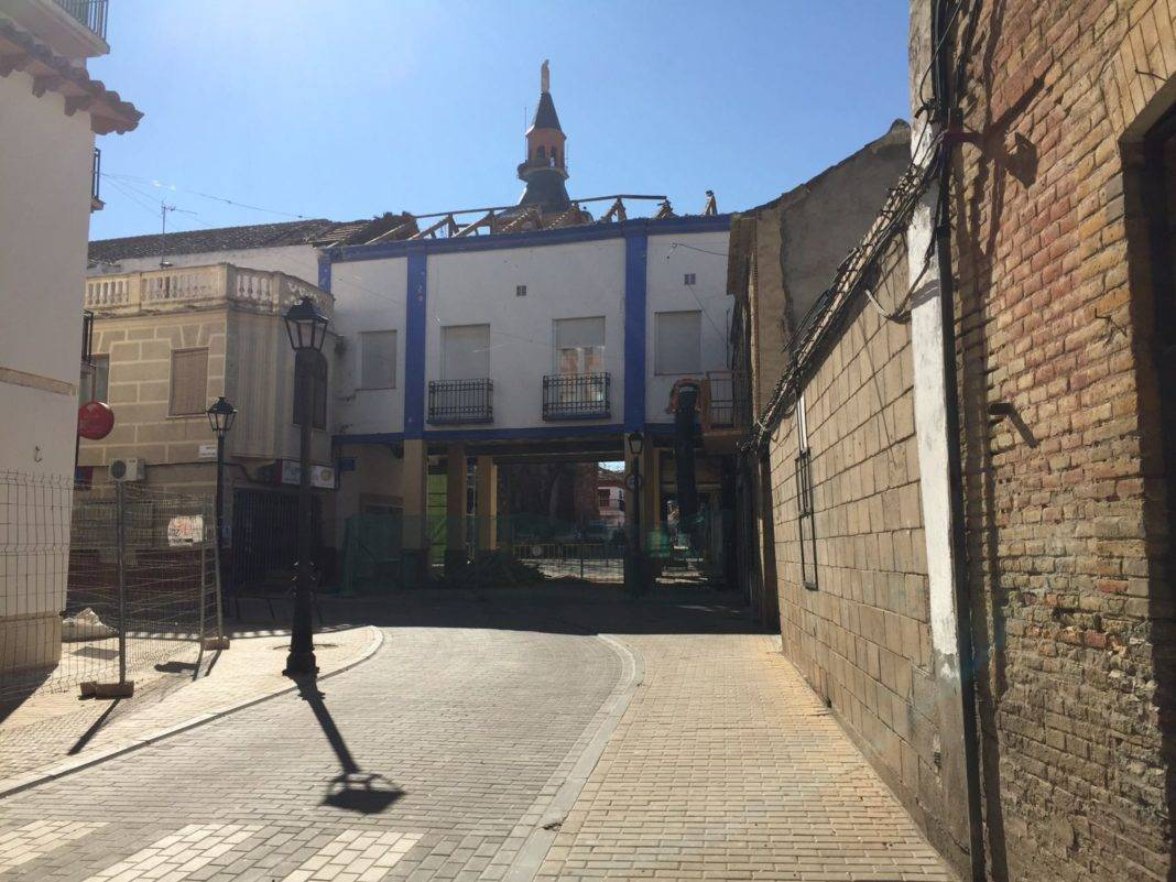 Comienzan las obras en el casino de Herencia 4