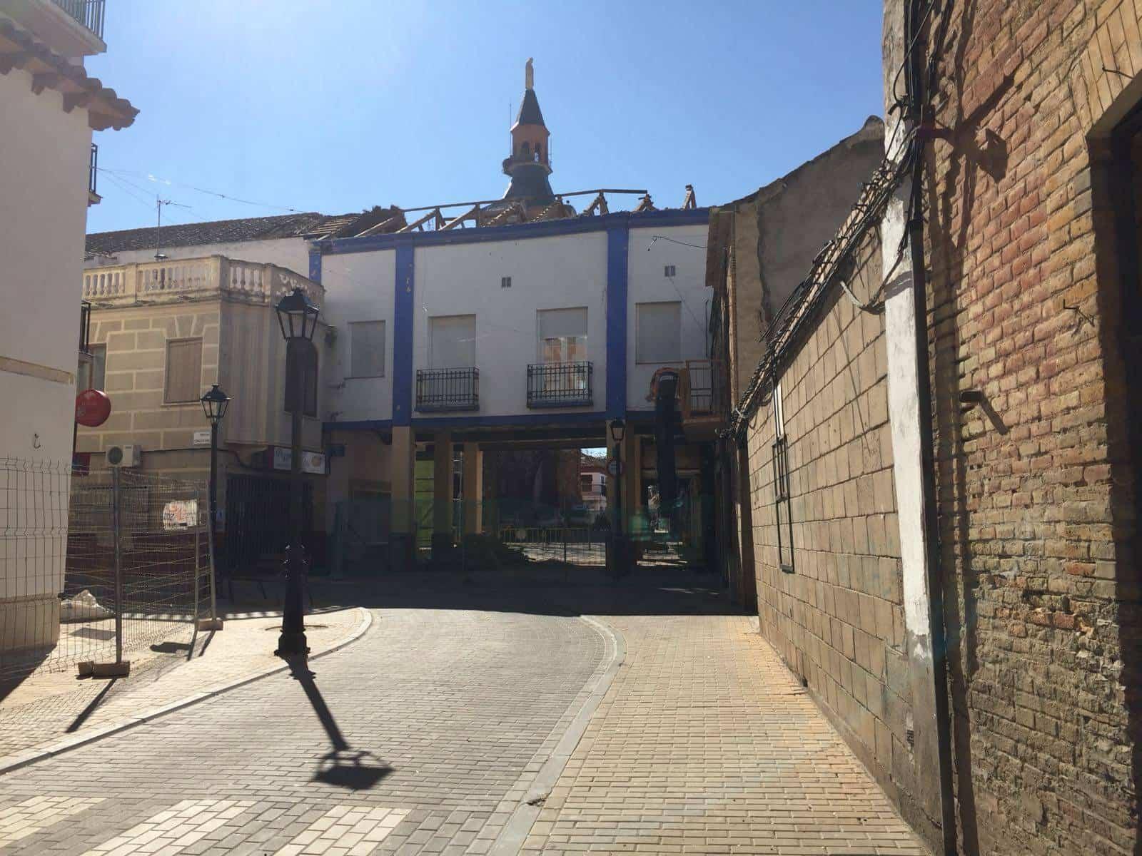 obras casino herencia 1 - Comienzan las obras en el casino de Herencia
