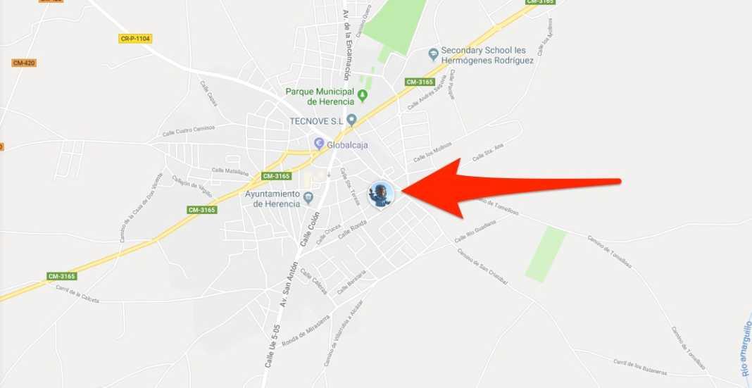 Sigue a Perlé en tiempo real en cada pasacalles con Google Maps 4