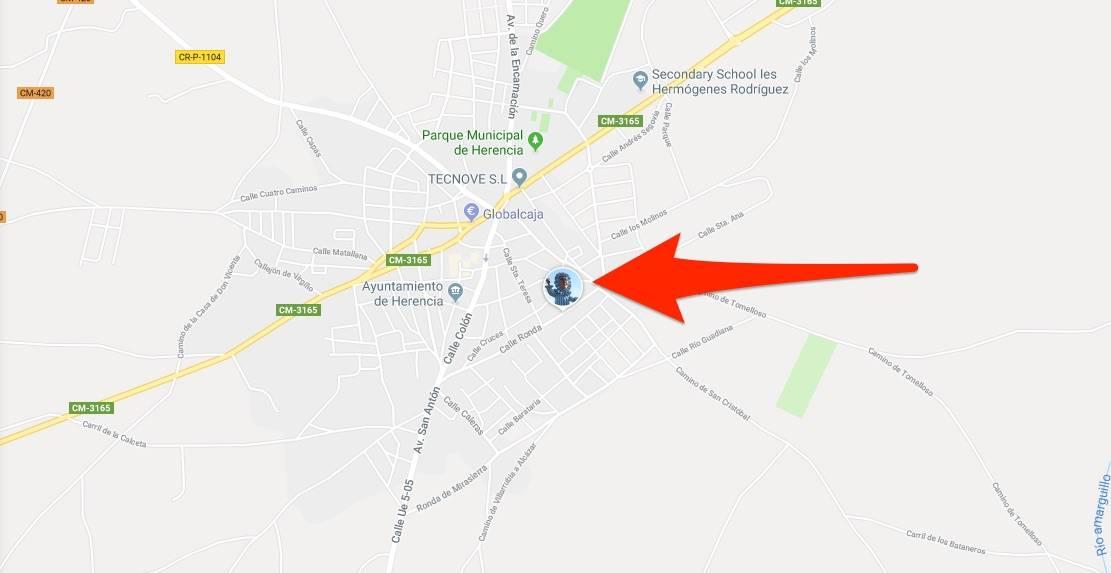 Sigue a Perlé en tiempo real en cada pasacalles con Google Maps 3