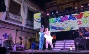"""sabado ansiosos 2018 carnaval herencia 12 300x185 - """"La Pedroche"""" inauguró el Carnaval de Herencia Ansioso ¡Actualizado!"""