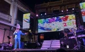 """sabado ansiosos 2018 carnaval herencia 13 300x185 - """"La Pedroche"""" inauguró el Carnaval de Herencia Ansioso ¡Actualizado!"""