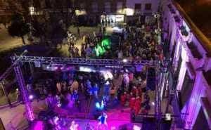 """sabado ansiosos 2018 carnaval herencia 3 300x185 - """"La Pedroche"""" inauguró el Carnaval de Herencia Ansioso ¡Actualizado!"""