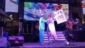 """sabado ansiosos 2018 carnaval herencia 7 300x169 - """"La Pedroche"""" inauguró el Carnaval de Herencia Ansioso ¡Actualizado!"""