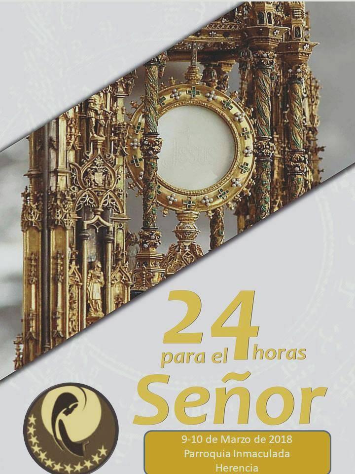 24 horas para el Señor en la parroquia de Herencia - 24 horas para el Señor en la parroquia de Herencia