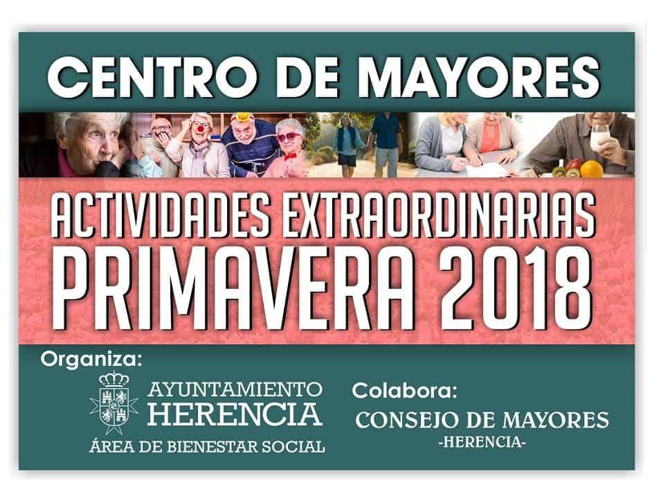 Actividades de primavera mayores - El Centro de Mayores organiza nuevas actividades para primavera