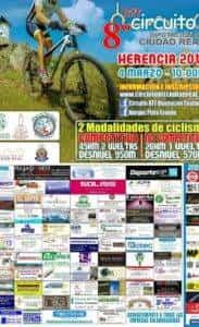 BBT Herencia 2018 183x300 - La 8ª edición del Circuito Popular BTT Diputación de Ciudad Real comienza en Herencia