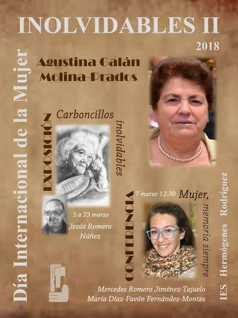 Cartel Inolvidables II IES Hermogenes Rodriguez 2018 - El IES Hermógenes Rodríguez conmemora el Día Internacional de la Mujer