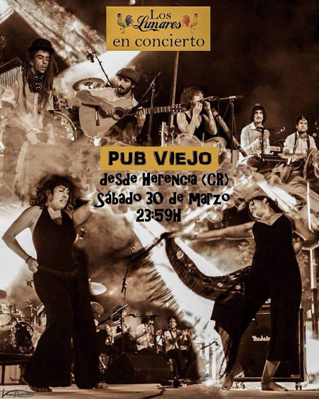 Los Lunares llevan su flamenco manchego hasta Ledeña (Cuenca) 4